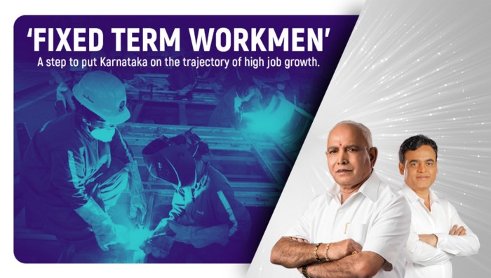 'Fixed Term Workmen' – A step to put Karnataka on the trajectory of high job growth