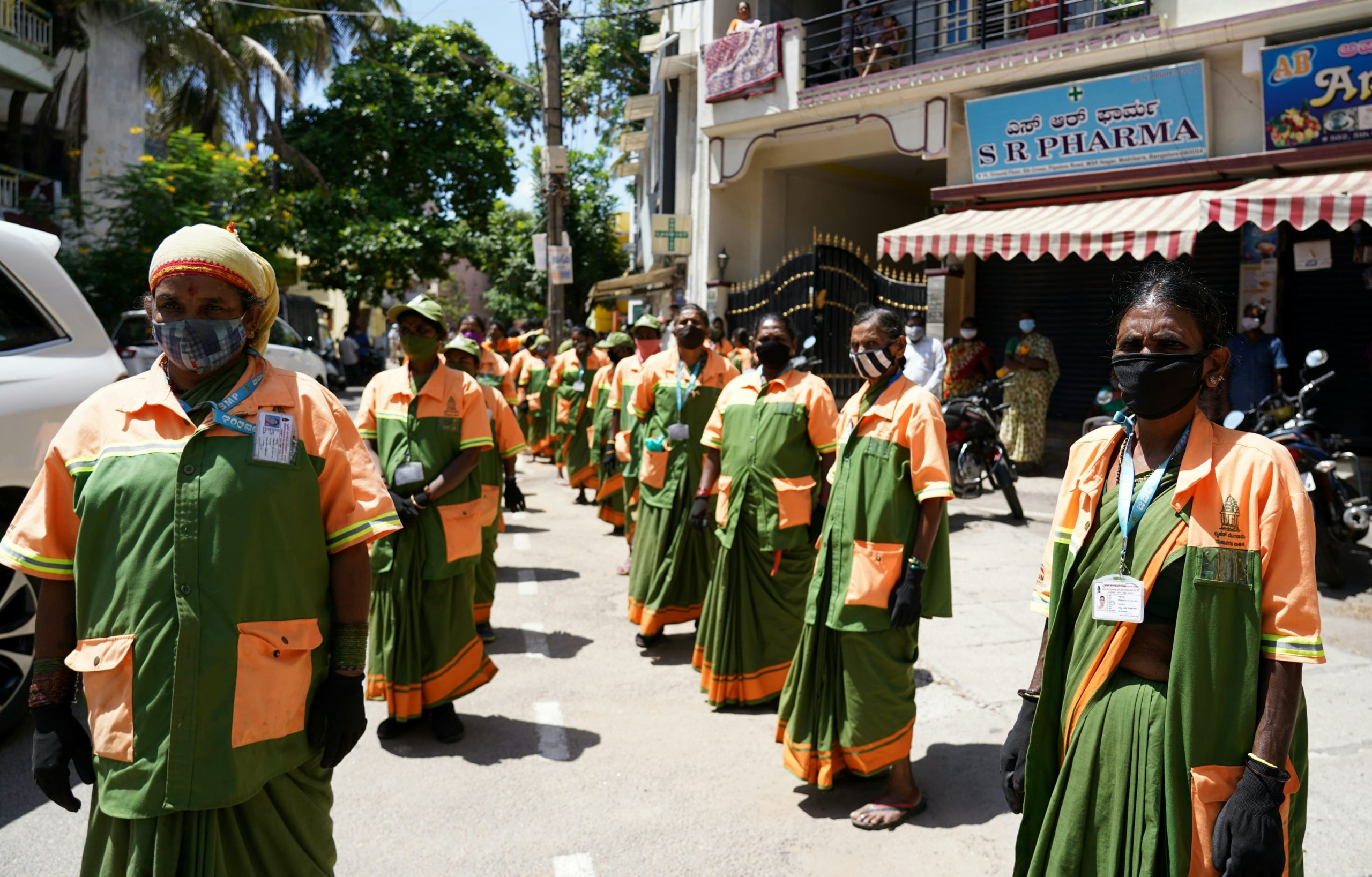 Ration Distribution to Frontline Warriors – 7 years BJP Goverance  – 30-05-2021